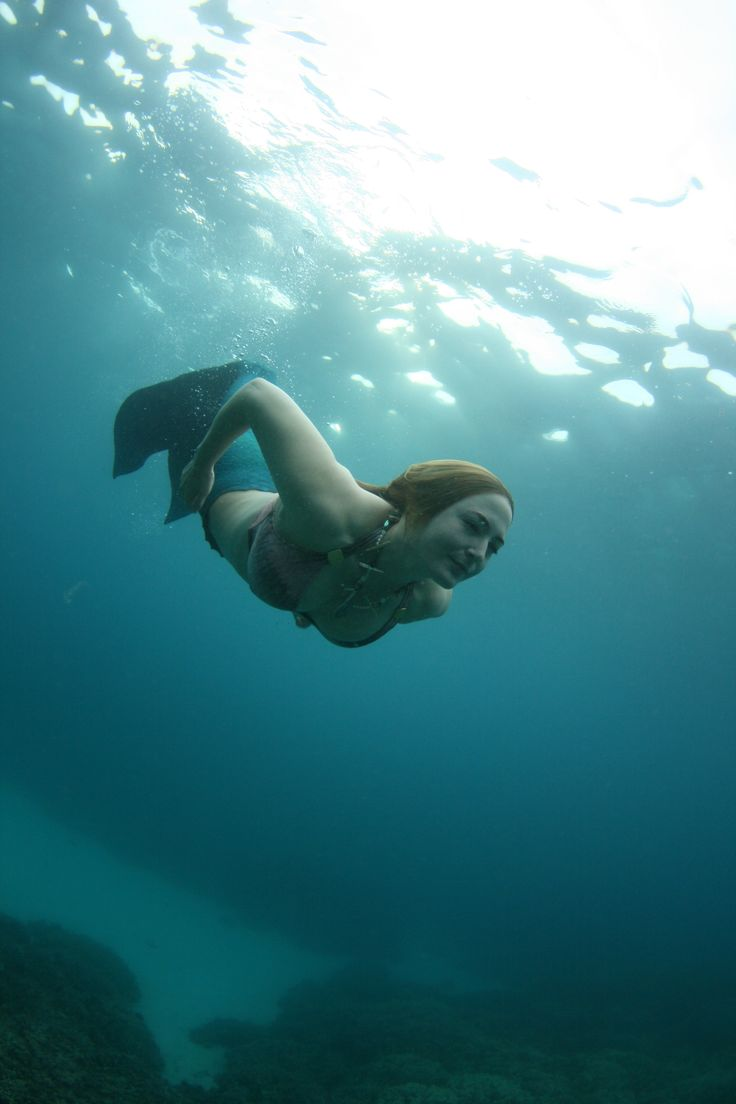 last year in hawaii i became a real mermaid la mer pinterest