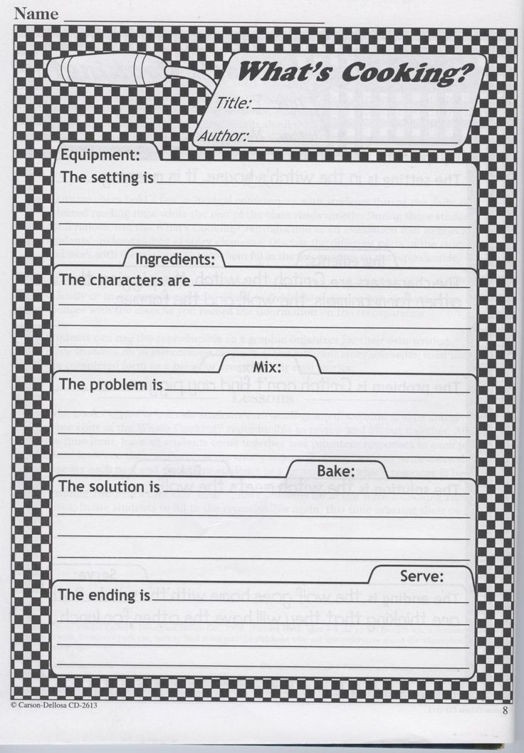 organization of a book report Use this chart to help organize information before writing a book report describe the setting, characters, conflicts, and more.