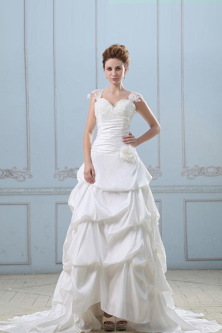 Best 116 Wedding Dresses ideas on Pinterest | Wedding frocks ...