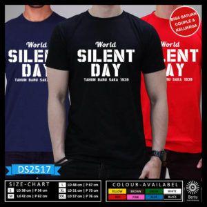 T-Shirt Nyepi Budha World Silent Day