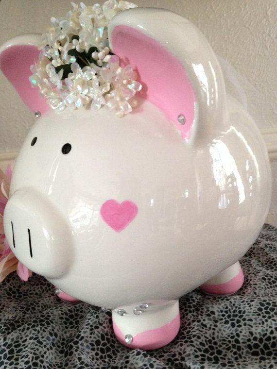 Petunia la novia cerámica banco guarro por AWittCreationDesigns