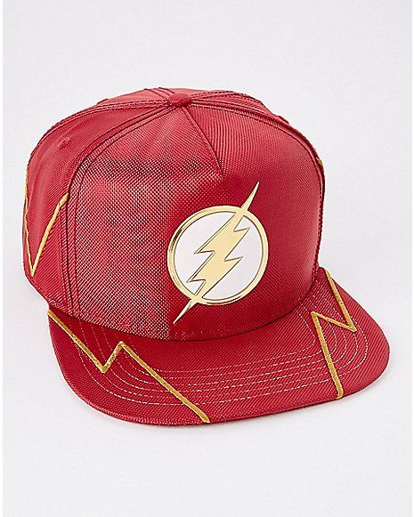 b3ba54601b80a Ballistic The Flash Snapback Hat - DC Comics - Spencer s