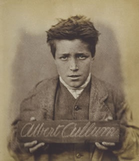Victorian child prisoner, Albert Cullum