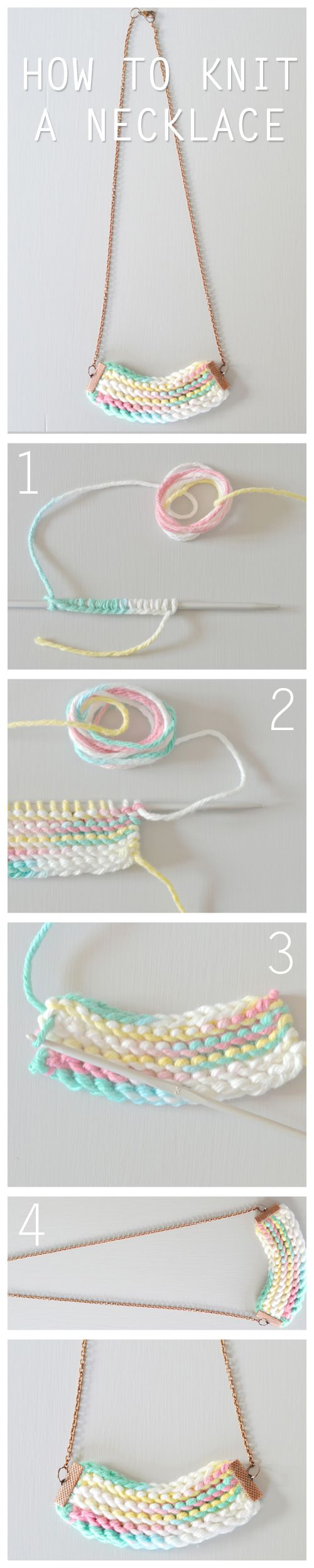 Learning to knit? Try our free knitting pattern to make a unique knitted accessory