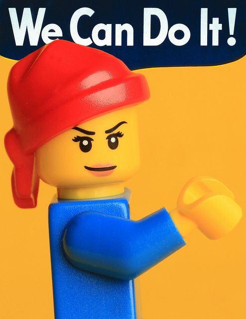LEGO Rosie By Debbie Hickey  Debbie Hickey+ Add Contact  This photo was taken on February 19, 2011.