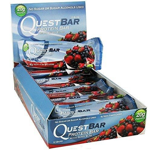 Quest Bars-Mixed Berry Bliss 24 Bars