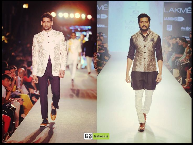 Latest Indian Ethnic Wear for Men, Designer wear by Manish Malhotra and Ritesh Deshmukh walks for Raghavendra Rathore. Watch the wedding collection here https://www.youtube.com/watch?v=mJhBSyoNphc