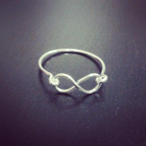 Infinity love!  ring
