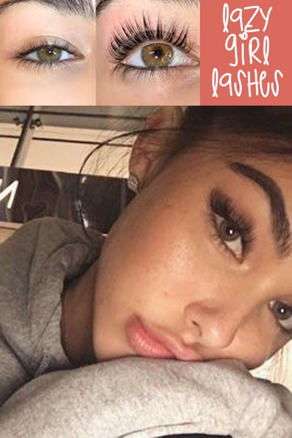 The trick to lazy girl long eyelashes.