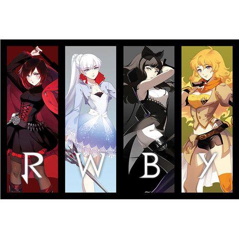 "RWBY ""Team RWBY"" Poster Just got it  LOVE IT!"