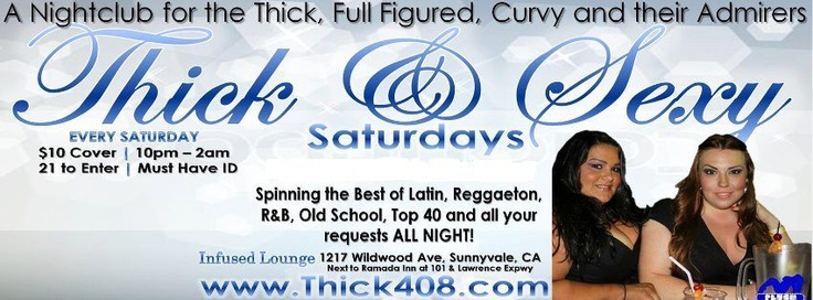events jose plush productions thick sexy saturdays