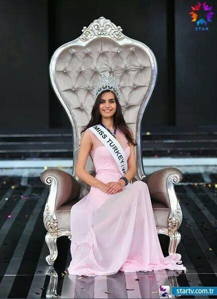Miss Turkey world, Amine Gulse
