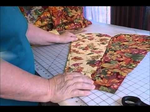 #Video #Tutorial: How to Make a Dresden Plate #Quilt by Carolyn Wainscott