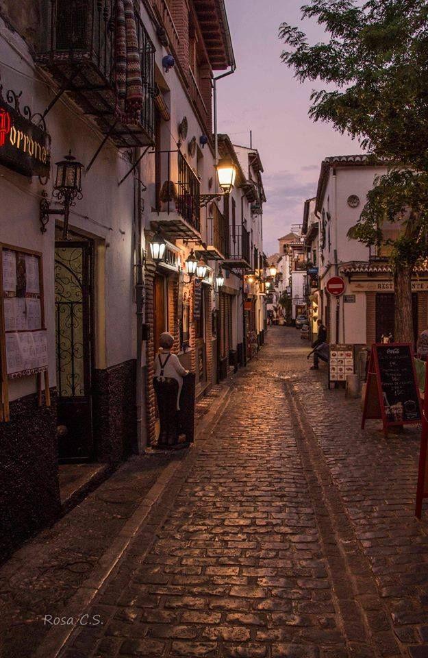 Calle Panaderos del Albayzin (Granada-España) Fotografía de Rosa Carmen Sánchez
