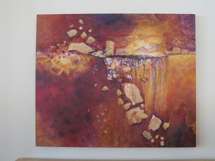 Nicole Garon, peinture acrylique, 30x36 *