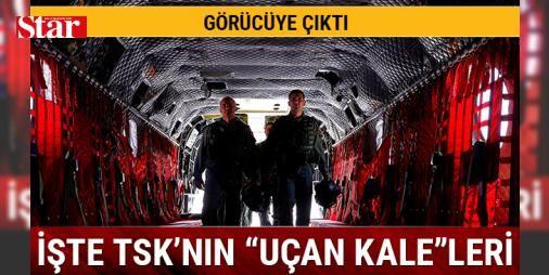 'Uçan Kaleler' görücüye çıktı: Türk Silahlı Kuvvetleri envanterine yeni katılan 'uçan kale' olarak bilinen CH-47F yük helikopterinin tanıtımı yapıldı.