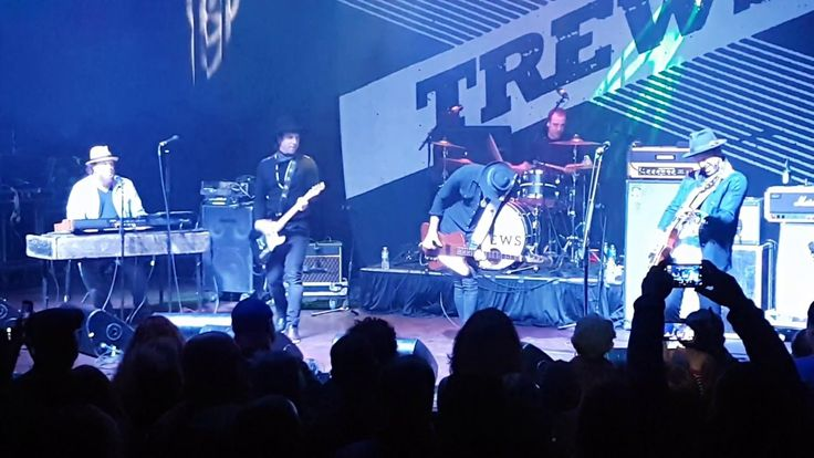 "The Trews performing ""Johnny B Good"" in Buffalo, NY, Mar 18/17. Many thanks to Jason Leslie for finding it and TrueTrewsFan67 for sharing!"