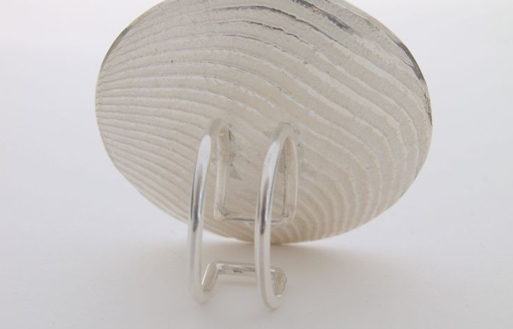 Melting with cuttlefish bone. Silver ring.  https://www.etsy.com/it/listing/234817456/back-veins-anello-in-argento-e?ref=shop_home_feat_4