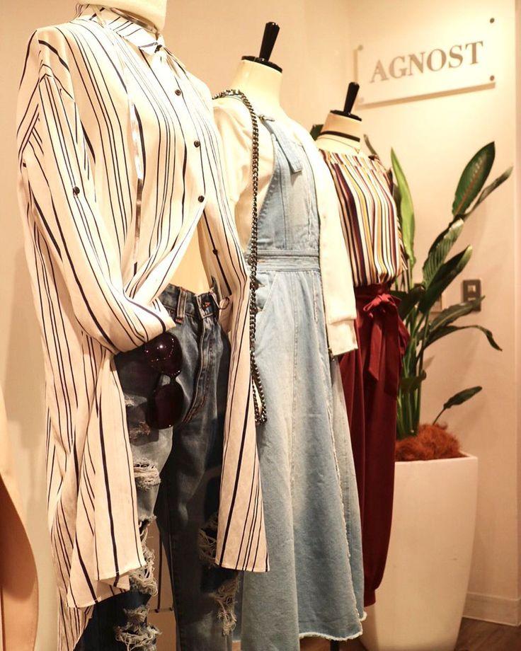 2017 AGNOST summer collection 可愛いっ 楽しみっ 早く暖かくならないかなぁー #agnost #展示会 #2017ss #ストライプシャツ #デニムスタイル #denimstyle#ワンピース #デニムワンピース #seasonconcept #healthyfemininity #大人の女性 #楽しめる服 #アラフォー女子 #アラサー 女子#ファッション#楽しんでください #fashion #coordinate #夏の展示会