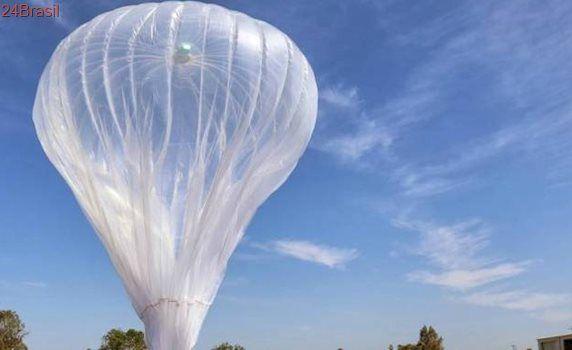 Balão de internet do Google cai no interior do Piauí