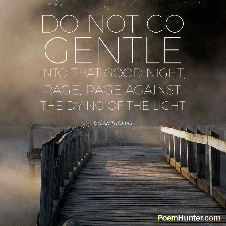 """a review of dylan thomas poem do not go gentle into that good night Here we discuss both summary and composition of the poem """"do not go gentle  into that good night"""" by dylan thomas the poem """"do not go gentle into that."""