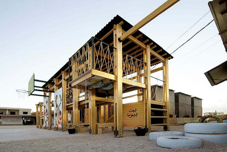 Gallery - CatalyticAction Designs Playgrounds for Refugee Children in Bar Elias, Lebanon - 1