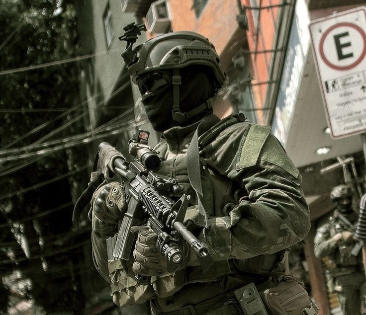 Brazilian Marines Special Forces (COMANF)