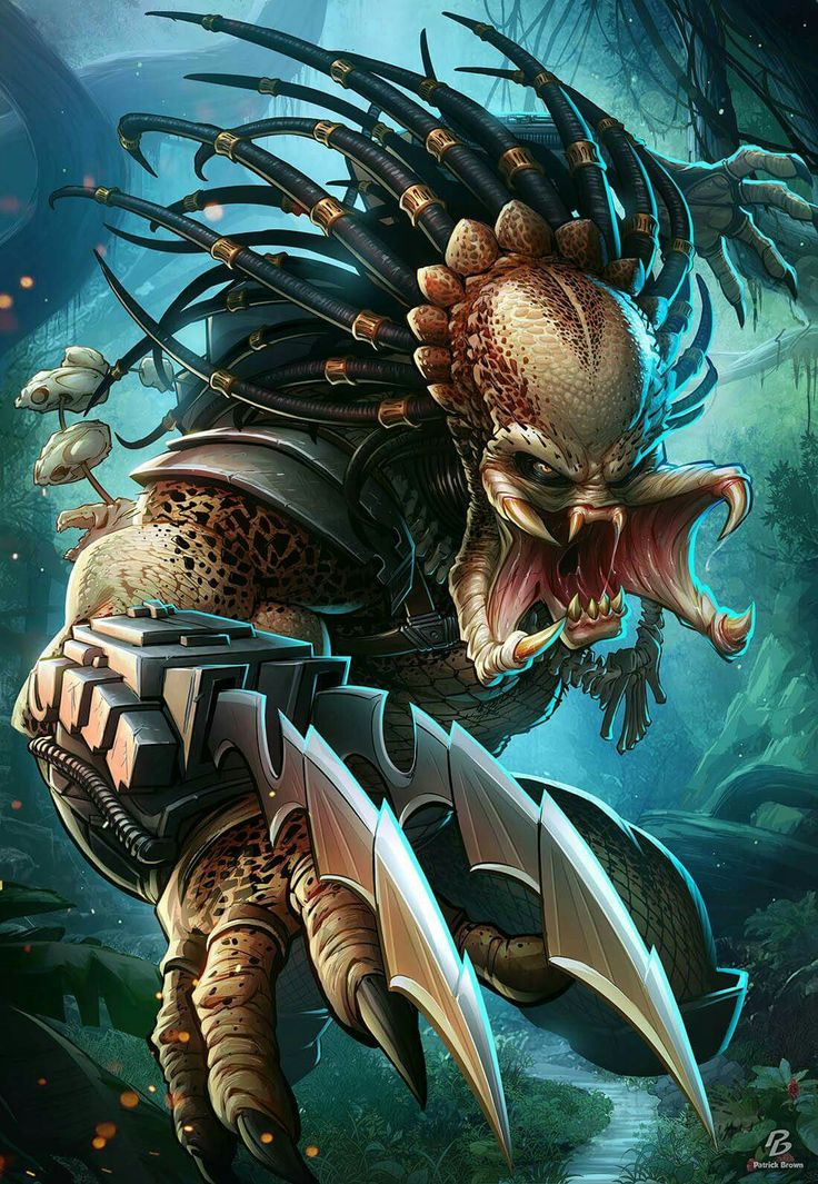 #predator by PatrickBrown