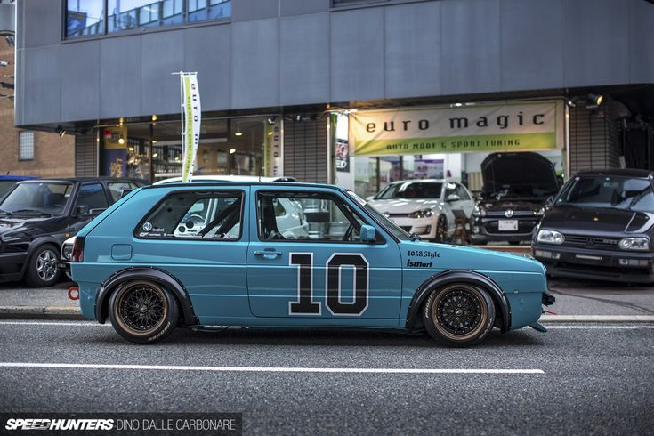 Volkswagen Golf Mk2 from Euro Magic in Osaka.