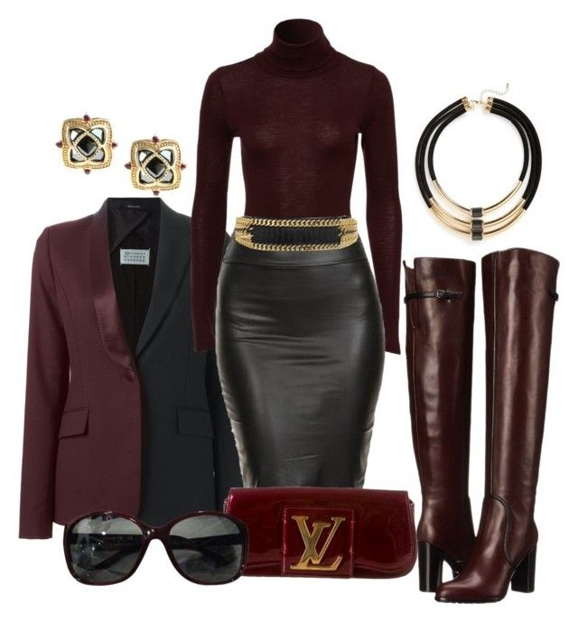 Wine by dawndyb on Polyvore featuring polyvore, fashion, style, Maison Margiela, Sergio Rossi, Louis Vuitton, Topshop, Dallas Prince, Chanel, Balmain and clothing