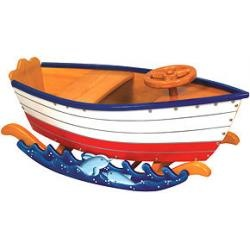 Guidecraft Retro Rocker - RunaboutWooden Boats, Boats Rocker, Rocker Runabout, Retro Rocker, Baby, Kids, Guidecraft Wooden, Runabout Boats, Runabout Retro