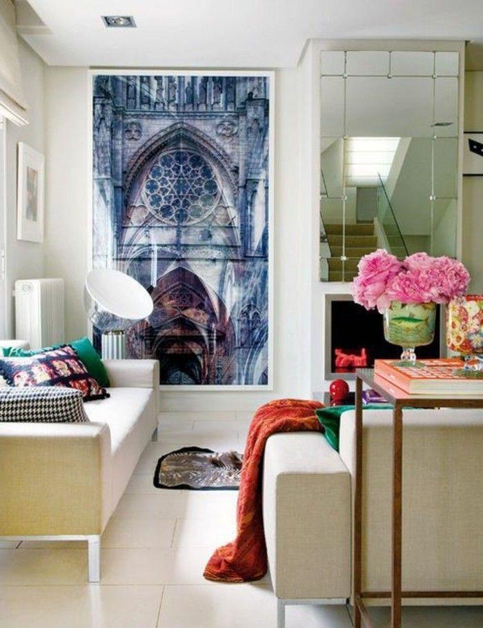Einladendes Wohnzimmer dekorieren Ideen und Tipps Wohnzimmer