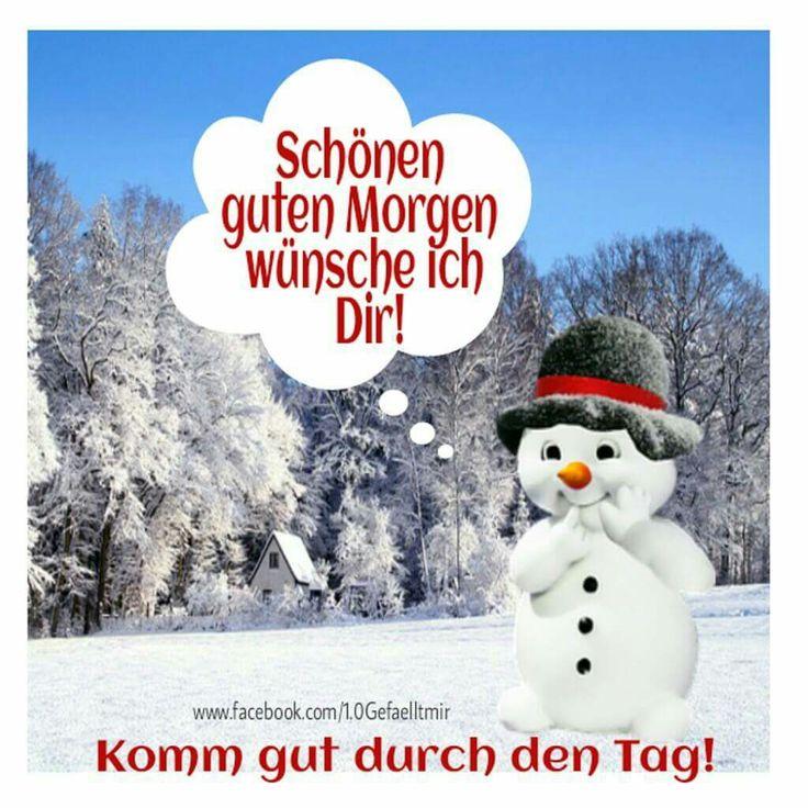 Guten Morgen Schnee