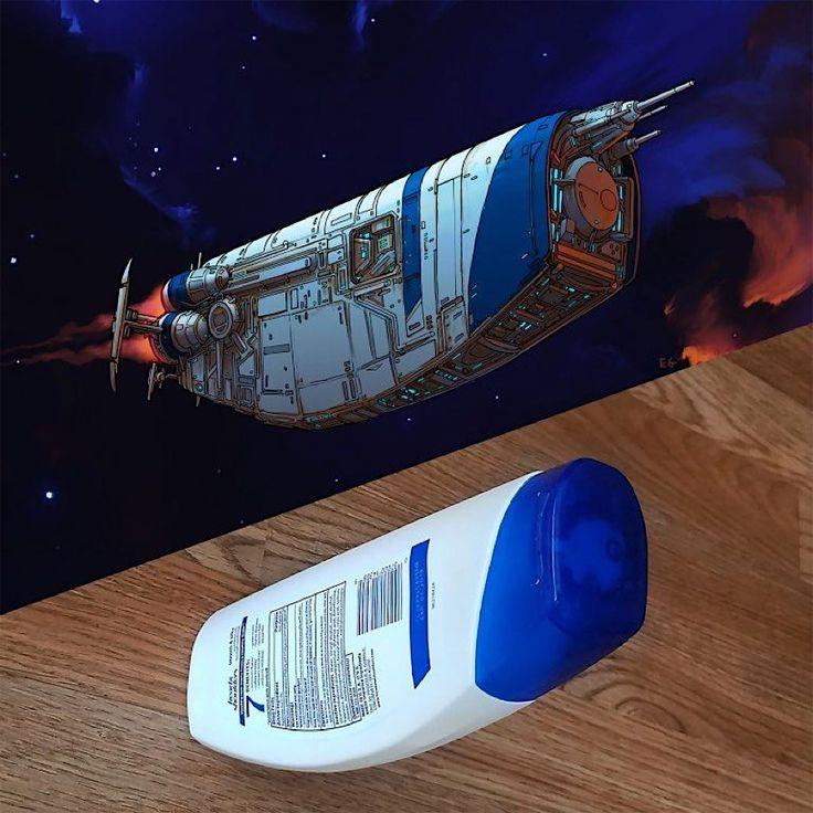 Eric Geusz sieht in jedem Gegenstand ein Raumschif…