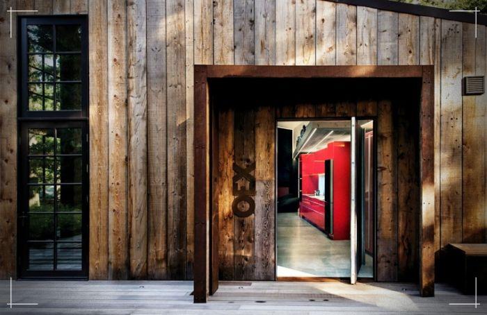 Celeiro reconstruído e desenhado por INCLI DESIGN   – Wooden Facades