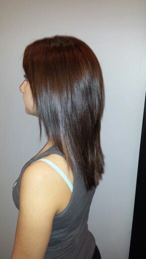 Rich Brown hair color. Fall 2013 hair color