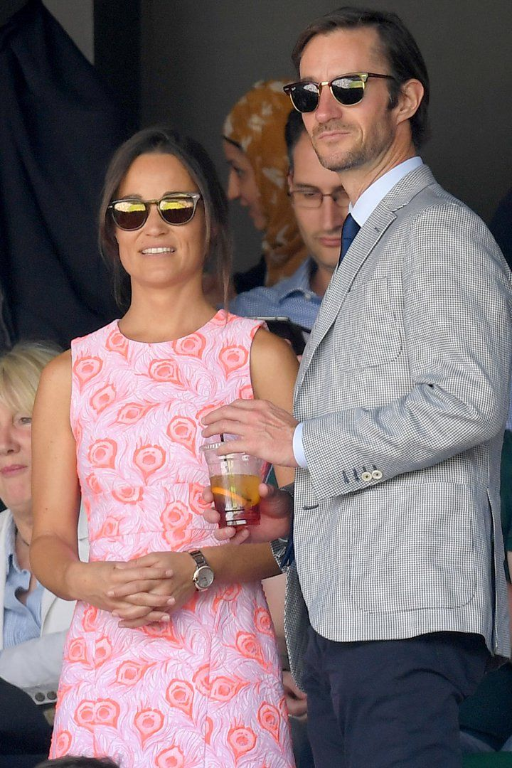 """Pin for Later: Pippa Middleton Is """"Delighted"""" to Be Engaged to Longtime Boyfriend James Matthews"""