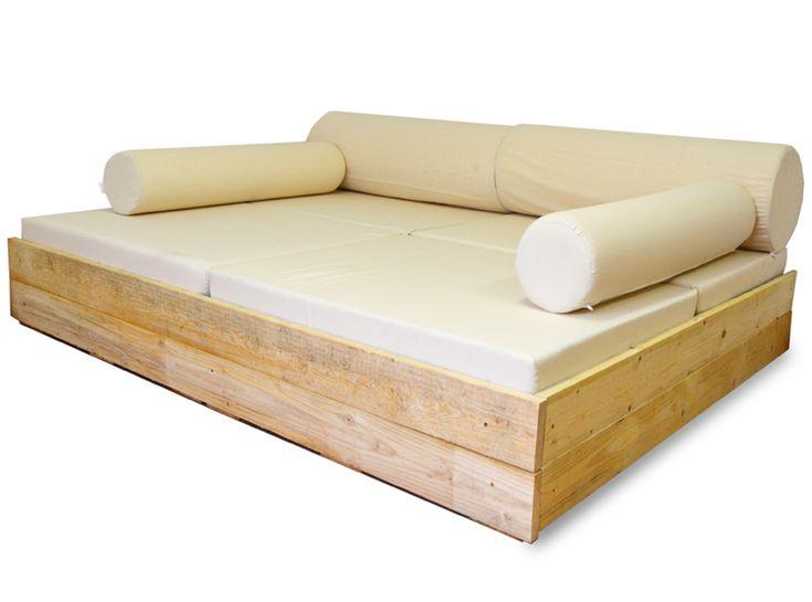 Mejores 80 im genes de muebles vintage con palets en for Sofa hecho de cojines