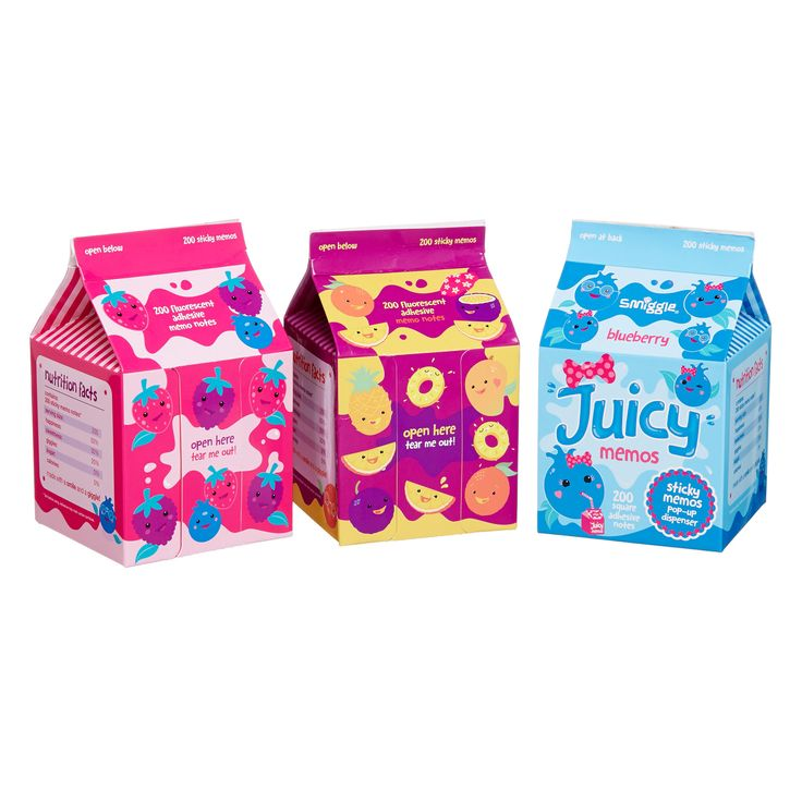Image for Juicy Memo Adhesive Note Dispenser from Smiggle UK