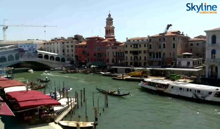 Ζωντανές Web Κάμερες Βενετία - Γέφυρα Ριάλτο
