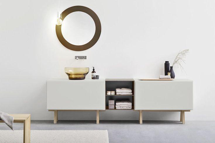 Коллекции в Corian ванной, банные принадлежности в Corian