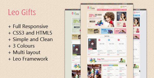 This Deals Leo Gifts Prestashop Themeyou will get best price offer lowest prices or diccount coupone http://templates.jrstudioweb.com/