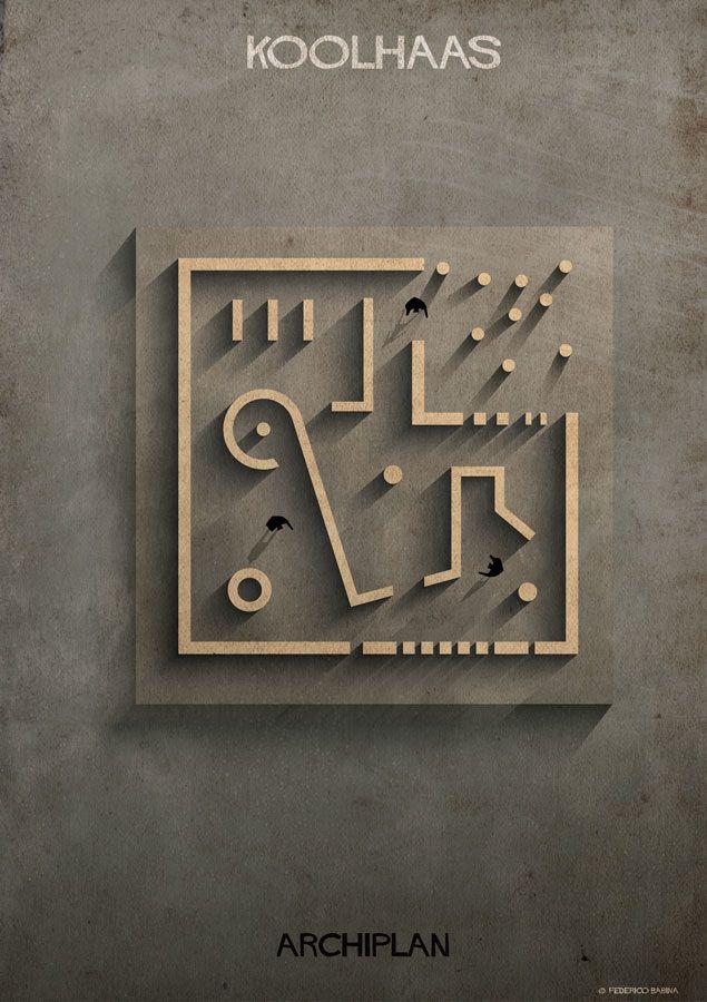 Koolhaas / OMA  http://federicobabina.com/ARCHIPLAN