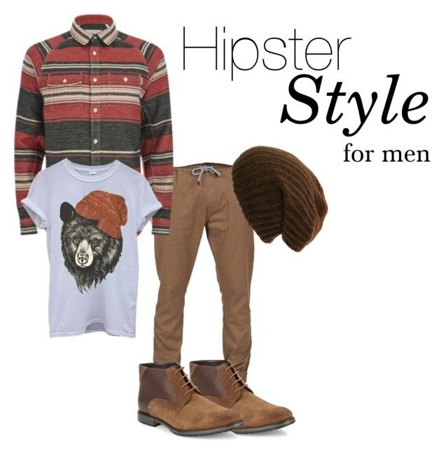 """Hipster Men's Style"" by andrestein on Polyvore featuring Volcom, Carhartt, BLACK BROWN 1826, mens, men, men's wear, mens wear, male, mens clothing and mens fashion"