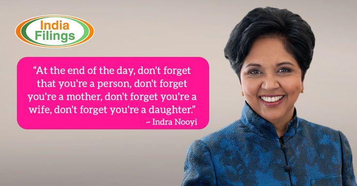 Indra Nooyi Quote on Women Empowerment