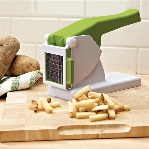Free Standing #Kitchen Gadgets Design White And Green Potato Slicing From Kitchen  Gadgets Store