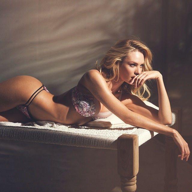 Candice Swanepoel for Victoria's Secret Lingerie, February 2015