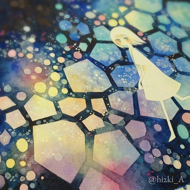 #watercolor #illustration #透明水彩
