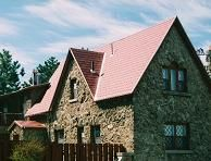 Metal Shingle tile roof Massachusetts.