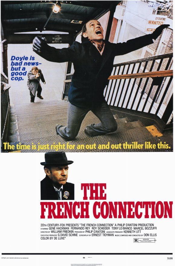 Best Picture Oscar Winners - 1970s: 1971 Best Picture – 'The French Connection'